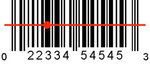 Toma de código de barras