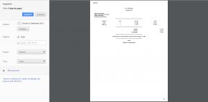 Facturacion tactil impresión de factura