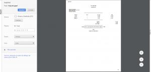 Factura tradicional - Previsualización de factura