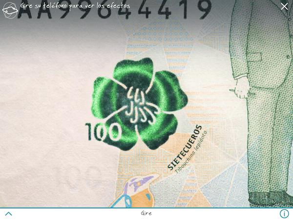 En la flor se muestra un horograma