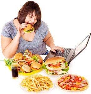 Comida chatarra y malos hábitos