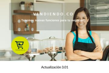 Actualización Vendiendo 3.0.1