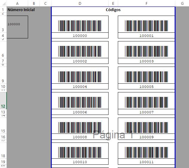 Cómo Imprimir Códigos De Barras Desde Excel