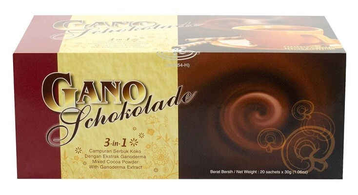 Gano Schokolade Chocolate con Ganoderma Gano Excel