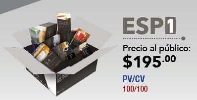 Paquete ESP1 Gano Excel USA