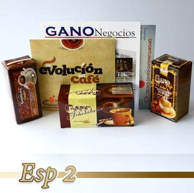 paquete esp 2 productos gano excel colombia