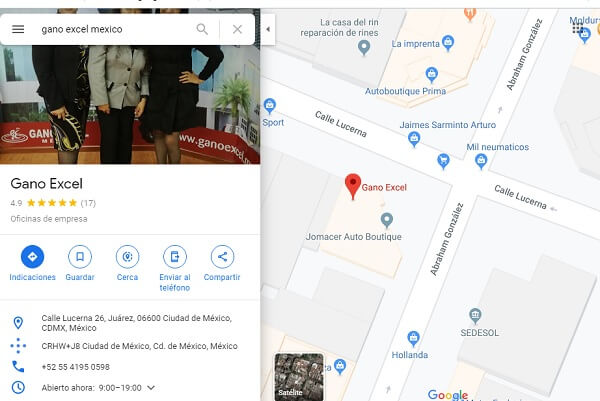 Donde comprar Productos Gano Excel México