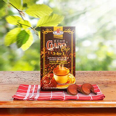 Nivel de cafeína del Gano Cafe 3 en 1