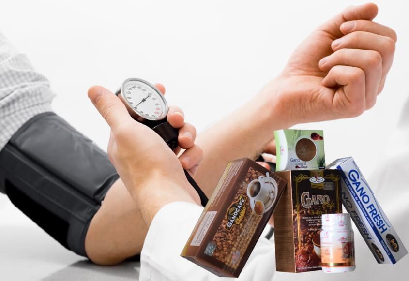Ganoderma para contral la hipertension