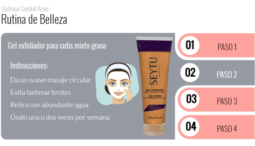 Paso 2 rutina anti acne seytu