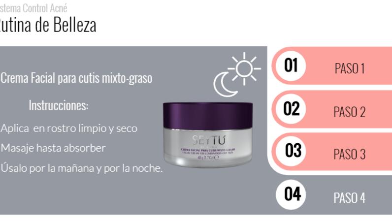Paso 4 rutina anti acne seytu
