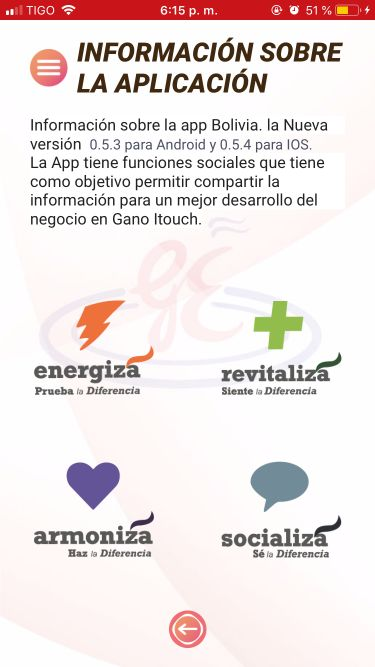 Acerca de Gano Excel Centro y Suramérica App
