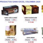 Lista de precios Gano Excel Colombia 2020 - desde 06-01-2020