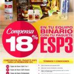 Super Promoción Compensación Binaria al 18% Gano Excel Colombia