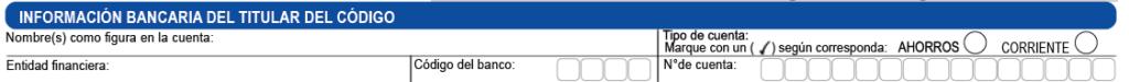 Información código colocación - Nueva Vinculación Gano Excel