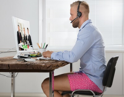 forma de vestir para seguir siendo productivos