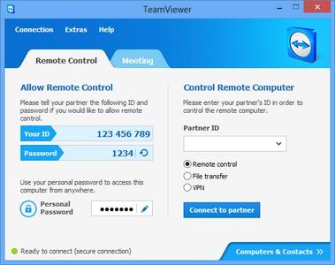 Acceso remoto por otros programas