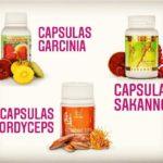 Cápsulas Garcinia, Sakanno, Cordyceps: Para qué sirven, precios, comprarlas