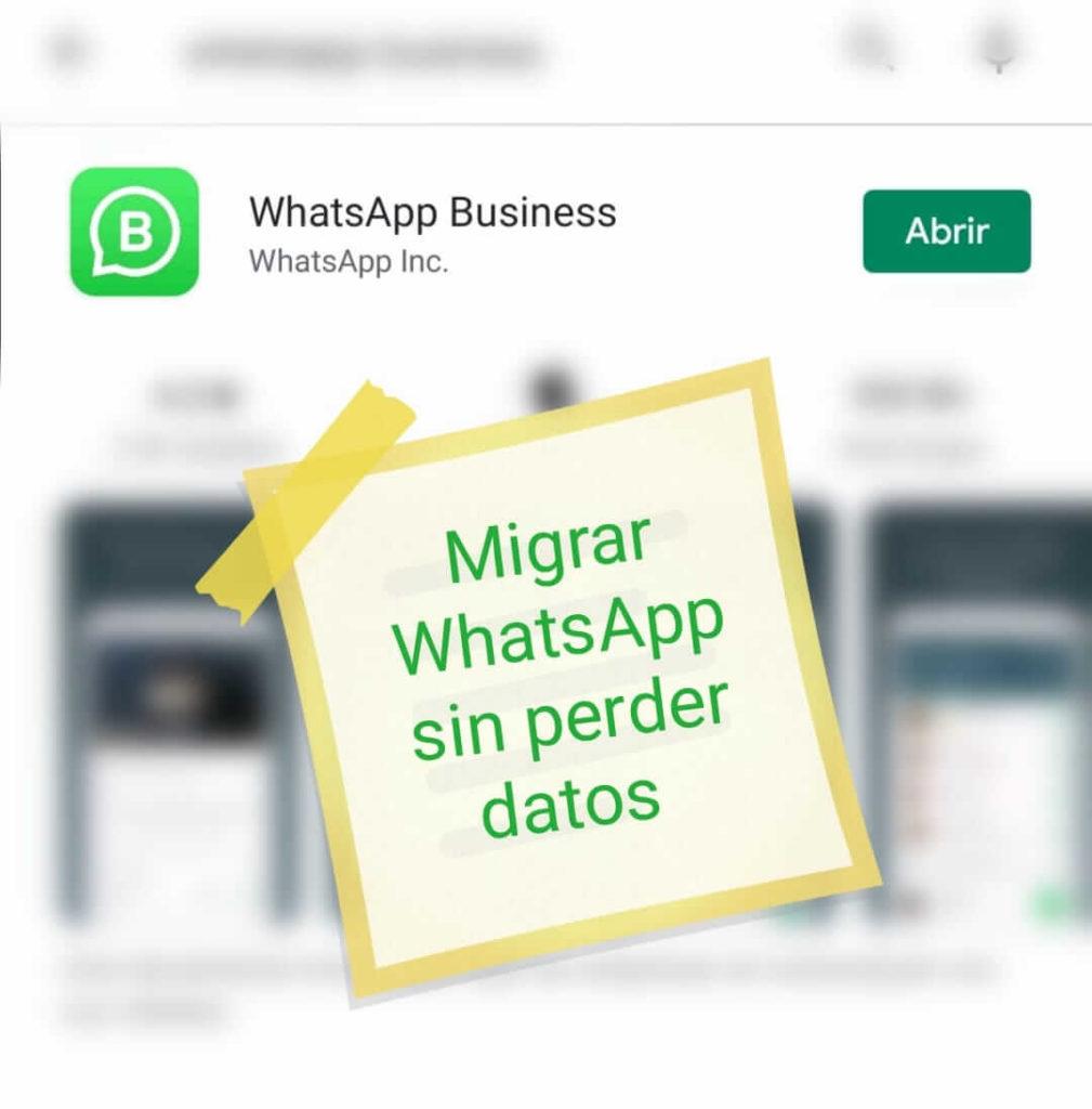 Migrar a WhatsApp Business