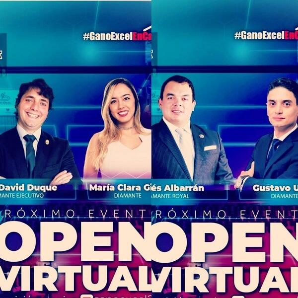 Eventos virtuales Gano Excel Colombia