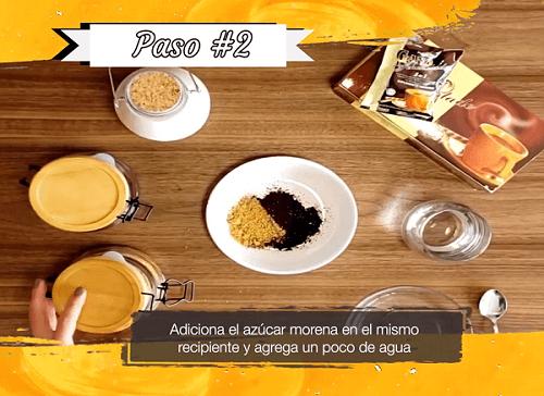 Gano Café Cremoso Paso 2