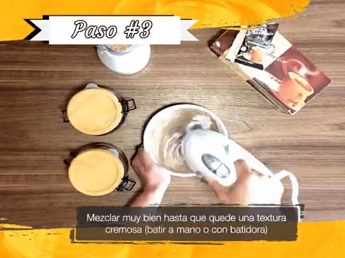Gano Café Cremoso Paso 3