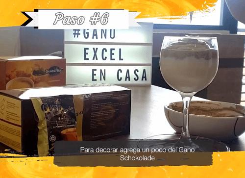 Gano Café Cremoso Paso 6