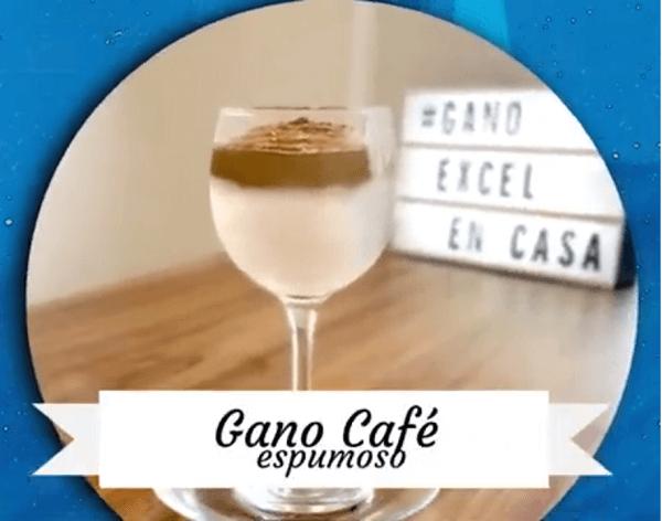 Receta Gano Café Cremoso