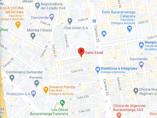 Gano Excel Bucaramanga